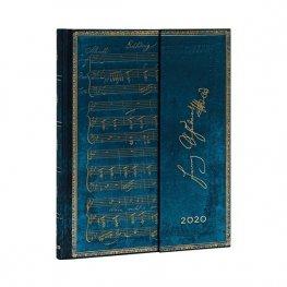Бележник Paperblanks Diary 2020, Schubert, Ultra/ 2264