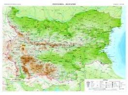Relefna Karta Blgariya 1 1 000 000 Knigi Ot Onlajn Knizharnica