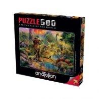 Пъзел - Светът на динозаврите 500 части 3603