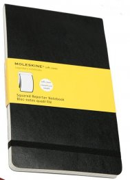 Бележник Moleskine Squared Soft Reporter Notebook Large [3018]