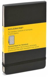 Бележник Moleskine Square Reporter Pocket [Journal] [5496]