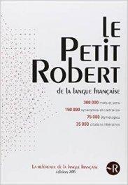 Dictionnaire Le Petit Robert 2015