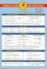 Помагалник математика 8 - 12 клас: Алгебра
