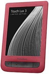 """*Pocketbook Touch Lux 3 6"""" PB626(2)-R-WW Червен четец за електронна книга"""