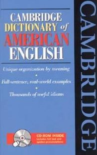 Cambridge Dictionary of American English: CD-ROM Inside