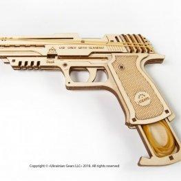 3D Механичен Пъзел - Пистолет 120723