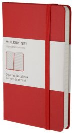 Бележник Moleskine Square Pocket, Hard Red [Diary] [0291]