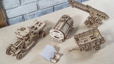 3D Механичен Пъзел - Комплект добавки за камион 120280