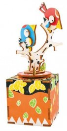 3D Wooden Puzzle Song of Bird and tree AM301