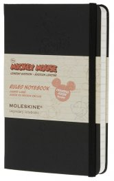 Бележник Moleskine Mickey Notebook Ruled Pocket [Hardcover] [7887]
