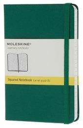 Бележник Moleskine Notebook Square Oxide Green Pocket [Hard Cover] [6286]