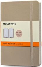 Бележник Moleskine Classic Colored Notebook Pocket Ruled Khaki Beige Soft Cover [3500]