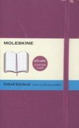 Бележник Moleskine Classic Colored Notebook Pocket Dotted Orchid Purple Soft Cover [3562]