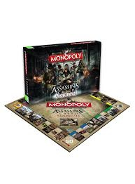 Assassin's creed Syndicate MONOPOLY - настолна игра
