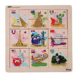 Toys Pino NTC асоциативна игра Страни 4Р007В