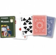 Карти за игра Modiano Poker син