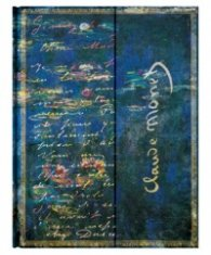 Бележник Paperblanks Monet Water Lilies Letter to Morisot, Lined, Ultra Wrap/ 2237