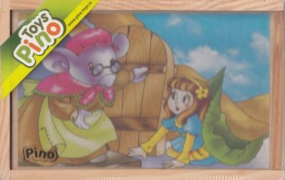 Toys Pino кубчета приказни герои 3586-1