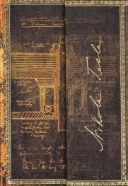Бележник Paperblanks TESLA, SKETCH OF A TURBINE Embellished Manuscripts Collection, Mini, Lined/4634