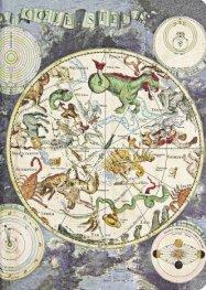Бележник Paperblanks CELESTIAL PLANISPHERE Early Cartography, Midi, Lined/2968