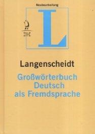 Langenscheidt Grosworterbuch Deutsch als Fremdsprache